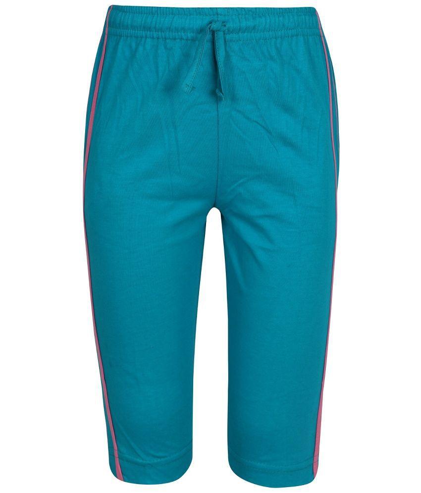 Jazzup Blue Capri For Girls