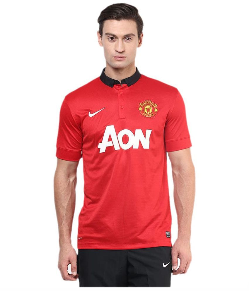 Nike Red Polo T Shirts