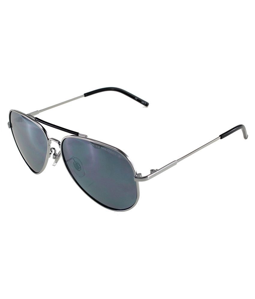 Swiss Military Black Aviator Sunglasses ( SUM3 ) - Buy Swiss Military Black Aviator  Sunglasses ( SUM3 ) Online at Low Price - Snapdeal a6dd88f1949