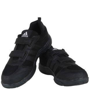 Adidas Black School Shoes For Kids Price in India- Buy Adidas ...