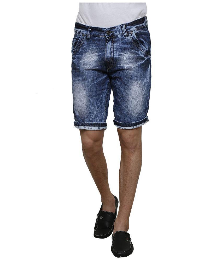 3 Concept Blue Shorts