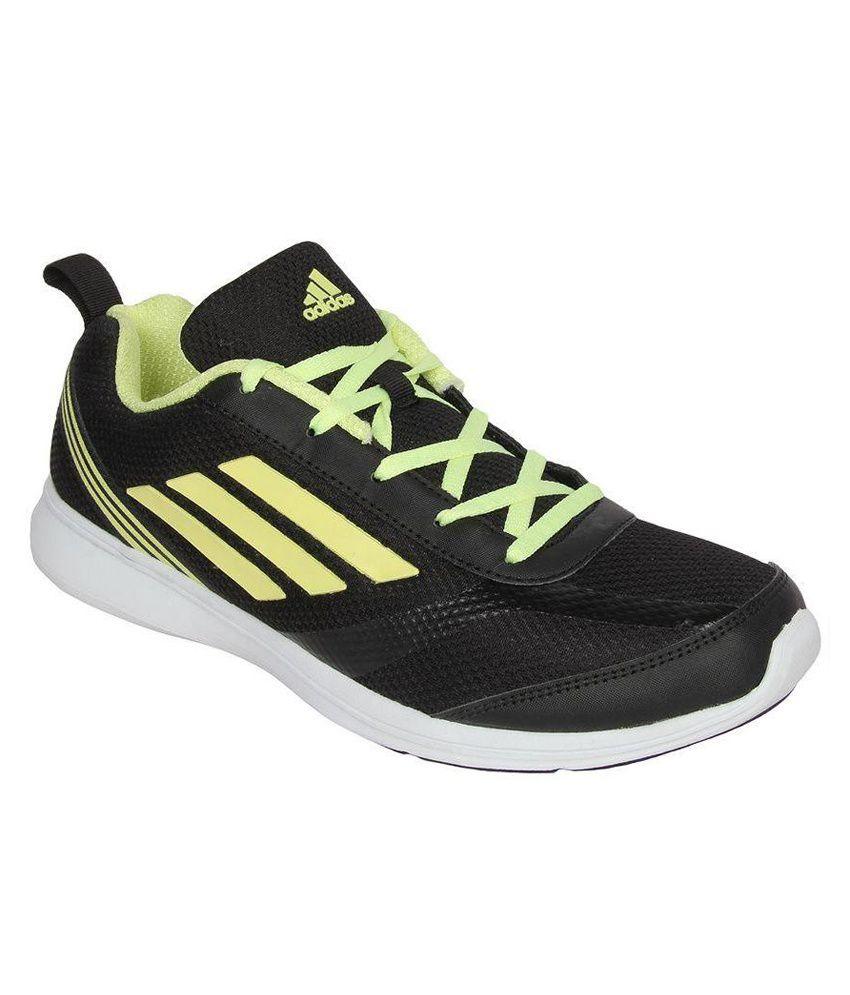 Adidas Black Badminton Sports Shoes