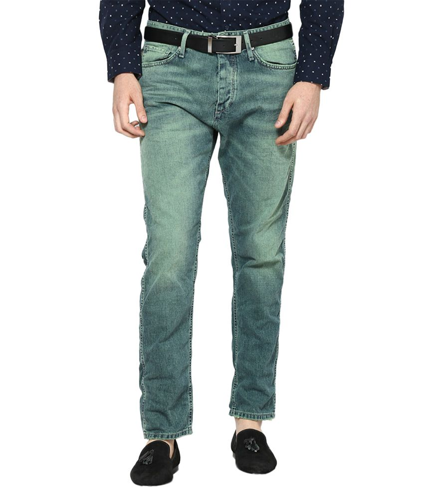 Jack & Jones Blue Anti Fit Jeans