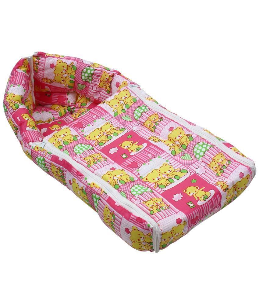Littly Pink Cotton Sleeping Bag