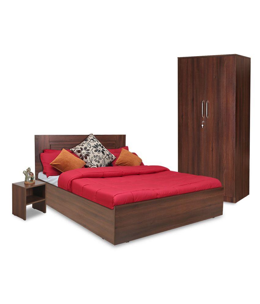 Crystal Furnitech Mercury Queen Size Bedroom Set