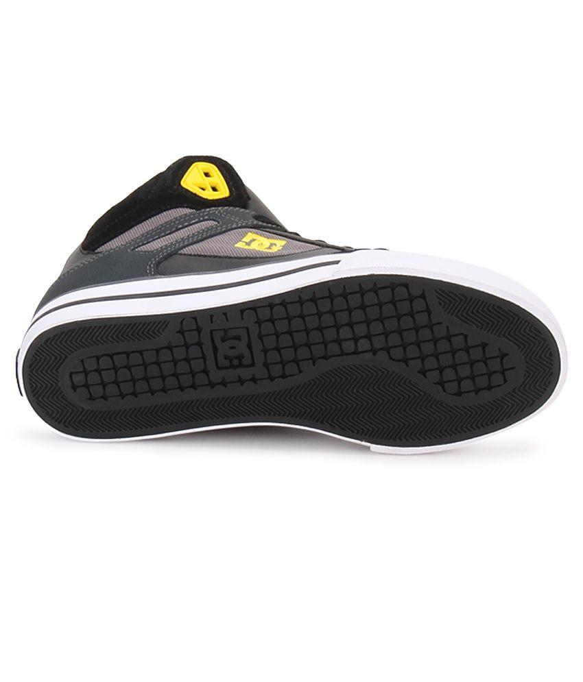 b4f6da9843 DC Spartan Black Smart Casuals Casual Shoes - Buy DC Spartan Black ...