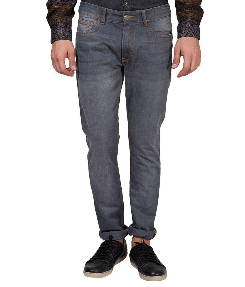 Highlander Grey Slim Fit Jeans