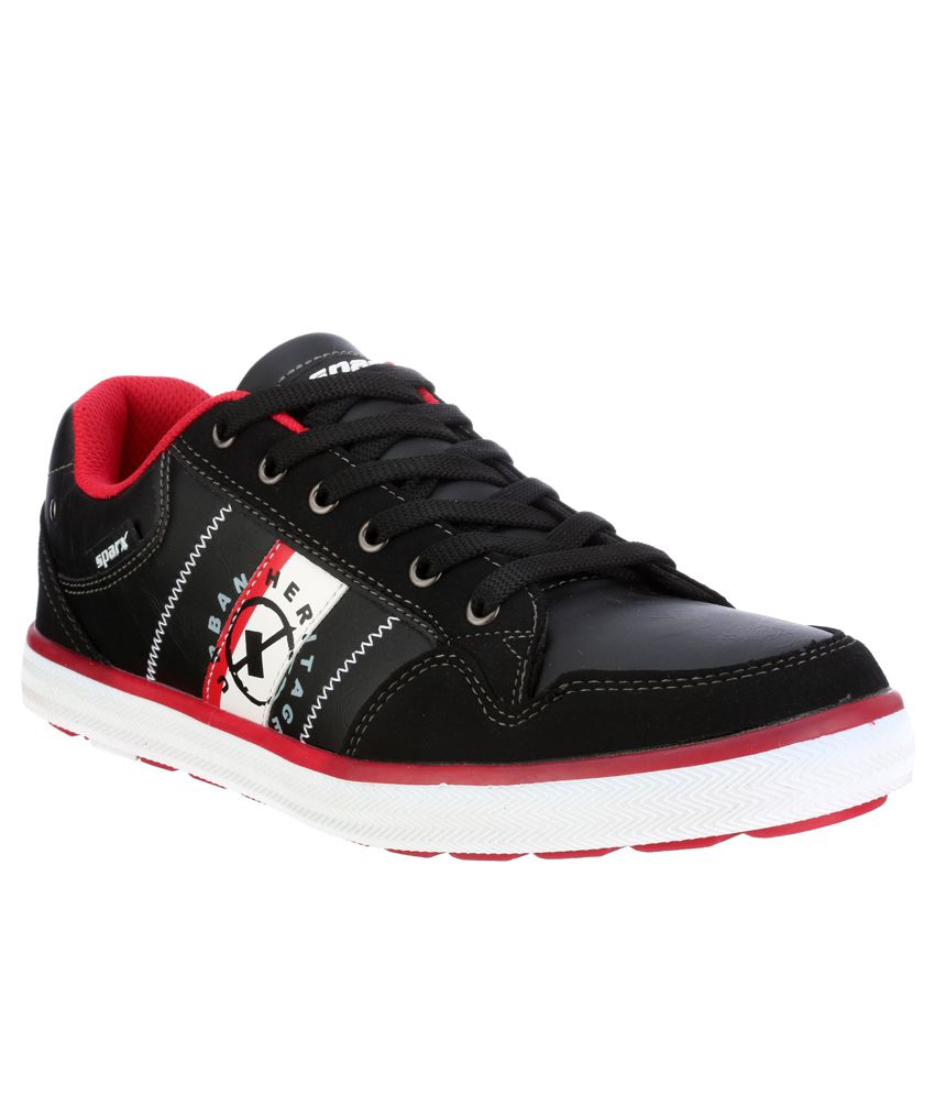 Sparx Black Running Sports Shoes