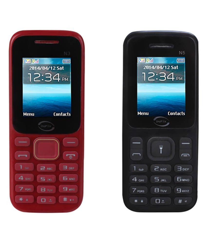 Infix N5&N3 Below 256 MB Black
