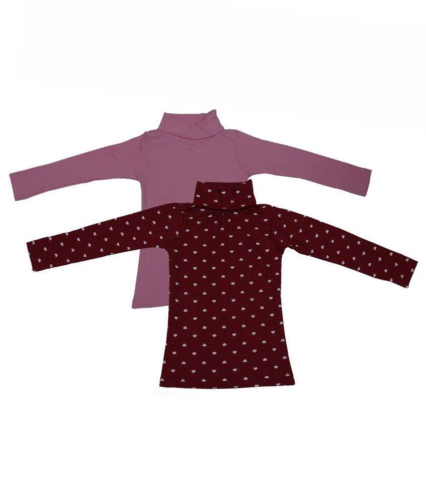 Rumaaz Multicolour Cotton Full Sleeve Sweatshirt - Pack of 2
