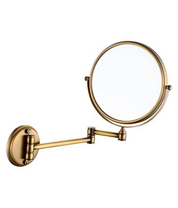 Greggs Gold Stainless Steel Bathroom Mirror