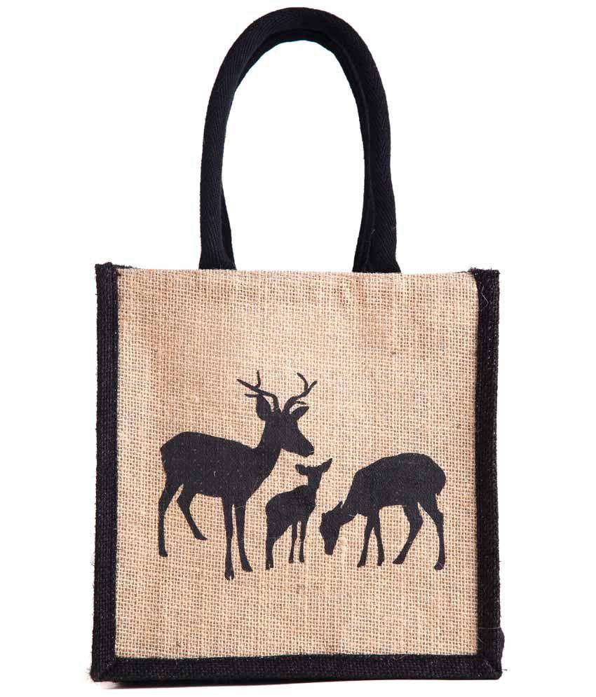 H&B Beige Lunch Bags
