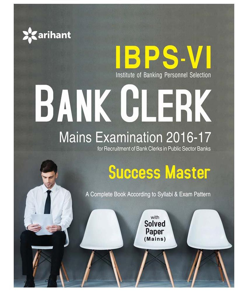 Exam Prep Store!! Upto 40% Off On Books By Snapdeal | IBPS-VI Bank Clerk Main Examination Success Master English - 1st Edition @ Rs.238