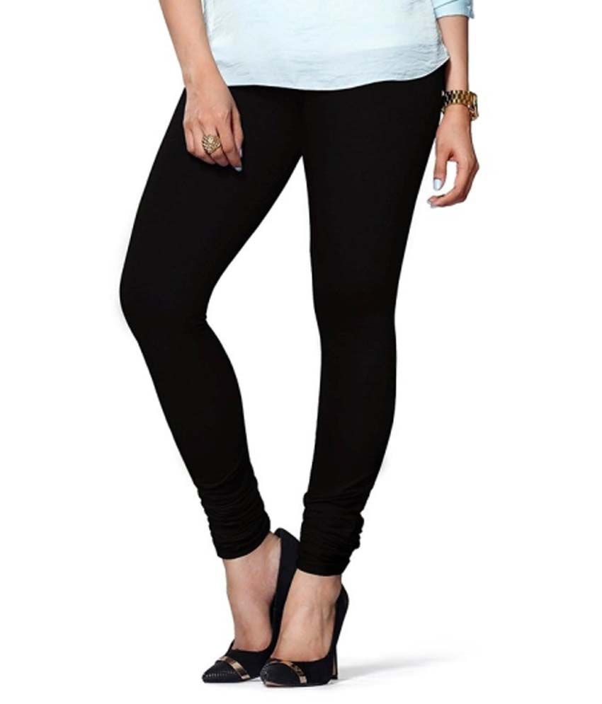 Roshni Creation's Black Cotton Leggings Price in India - Buy ...
