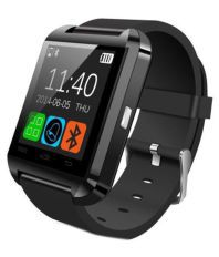 ROOQ U8 Black Bluetooth Smart Watch For Android/iOS