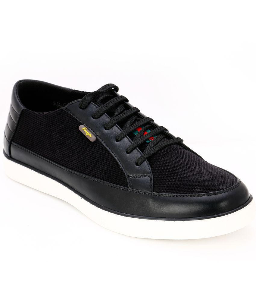 Froskie Black Sneaker Shoes
