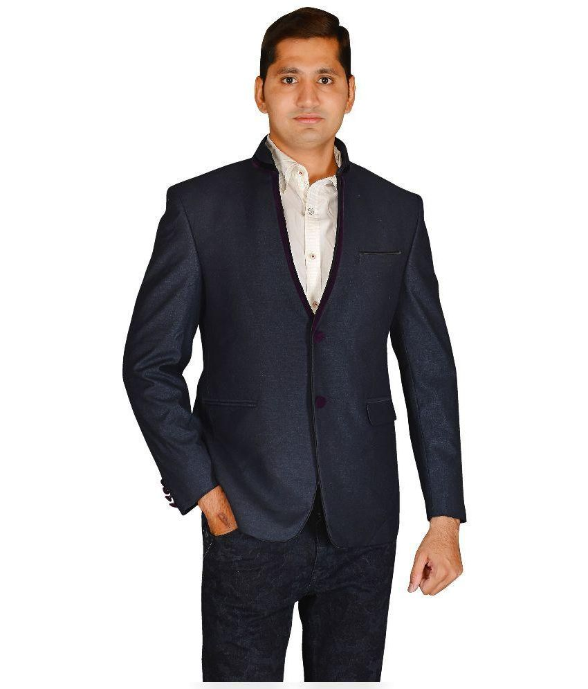 MD Fashion Blue Party Blazers