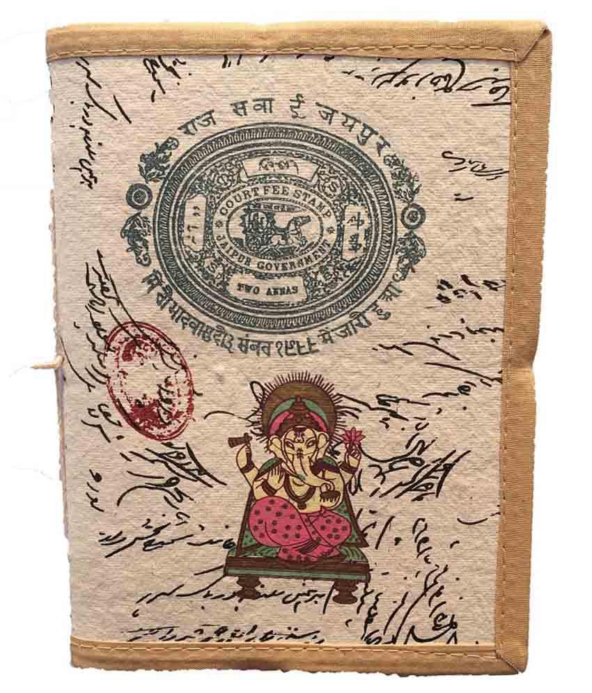 R Store Multicolour Ganesh Print Diary