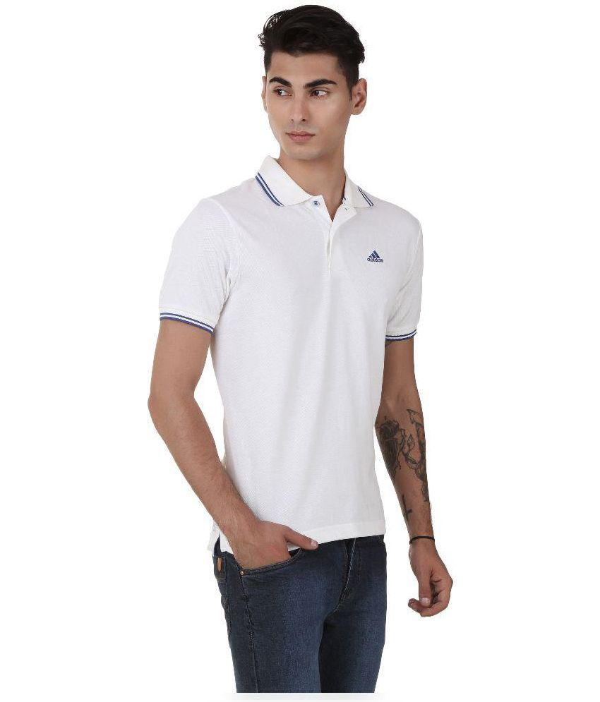 d97e928e Adidas White Polo T Shirts - Buy Adidas White Polo T Shirts Online at Low  Price in India - Snapdeal