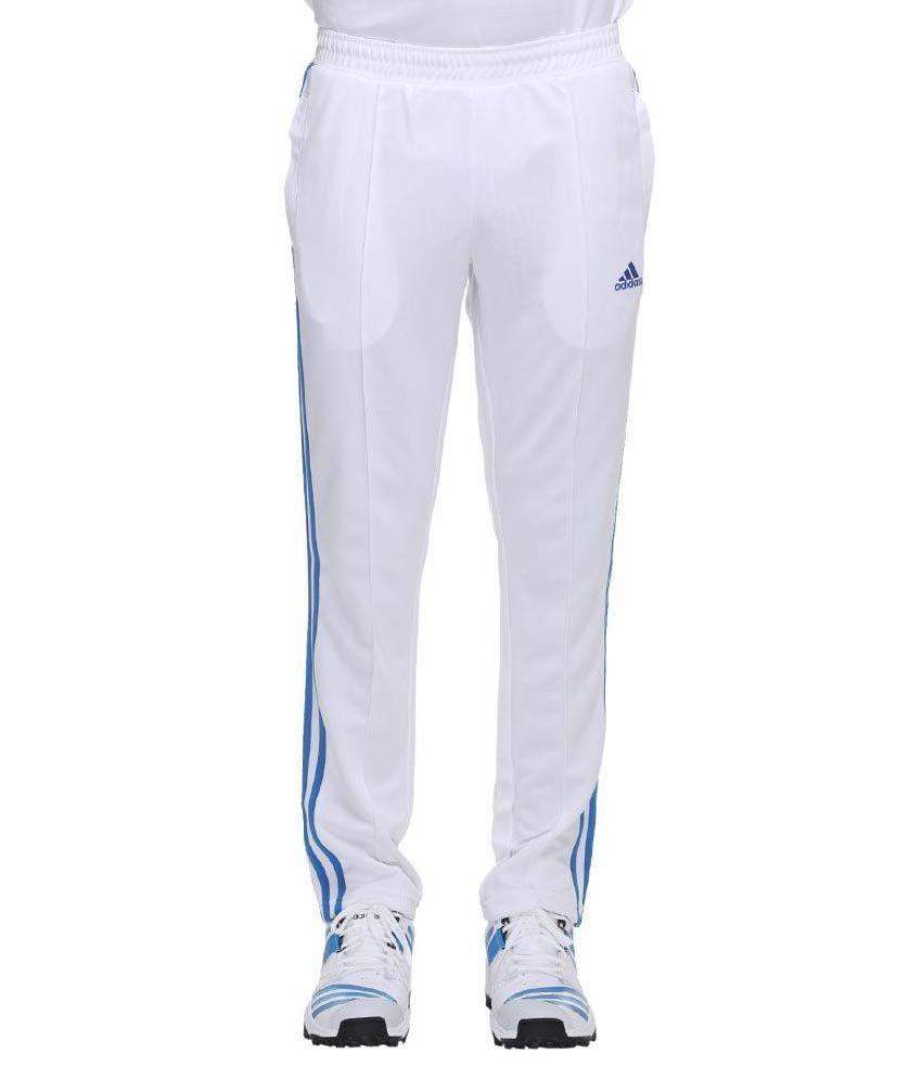 Adidas Core Regular Cricket Pants - White