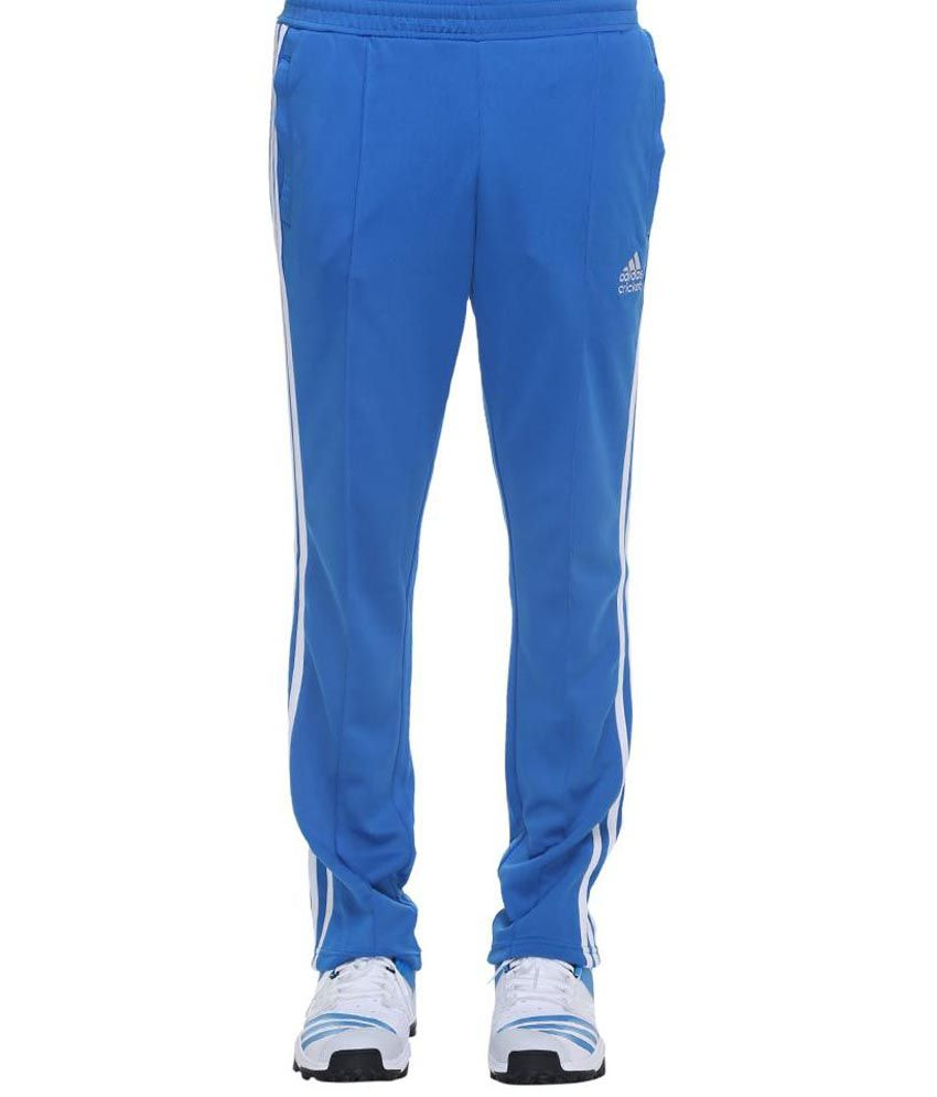 Adidas Core Regular Cricket Pants - Bahia Blue