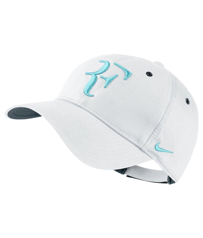 Nike RF Hybrid Cap - White & Blue