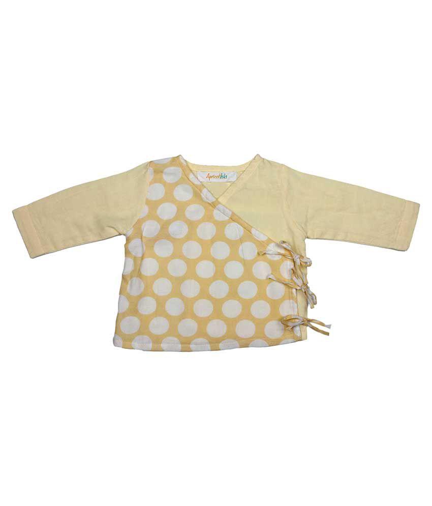 Apricot Kids Yellow Cotton Top