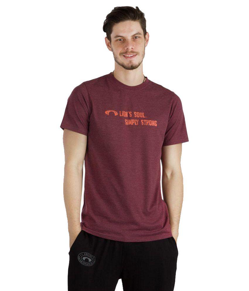 Arcley Maroon T Shirts
