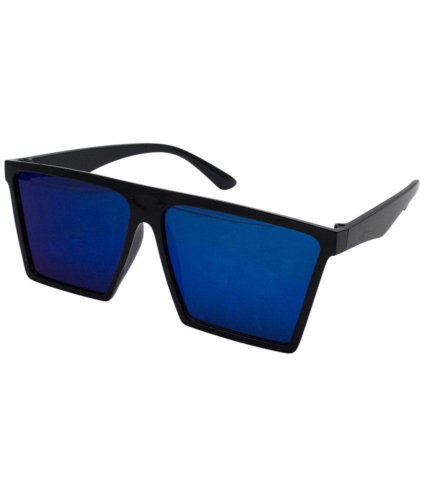 Quoface Blue Square Sunglasses ( QF-SG014 )
