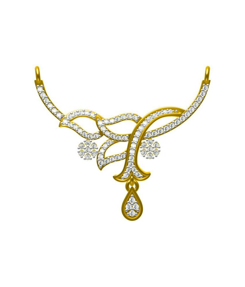 Sakshi Jewels 14kt Gold Mangalsutra without Chain