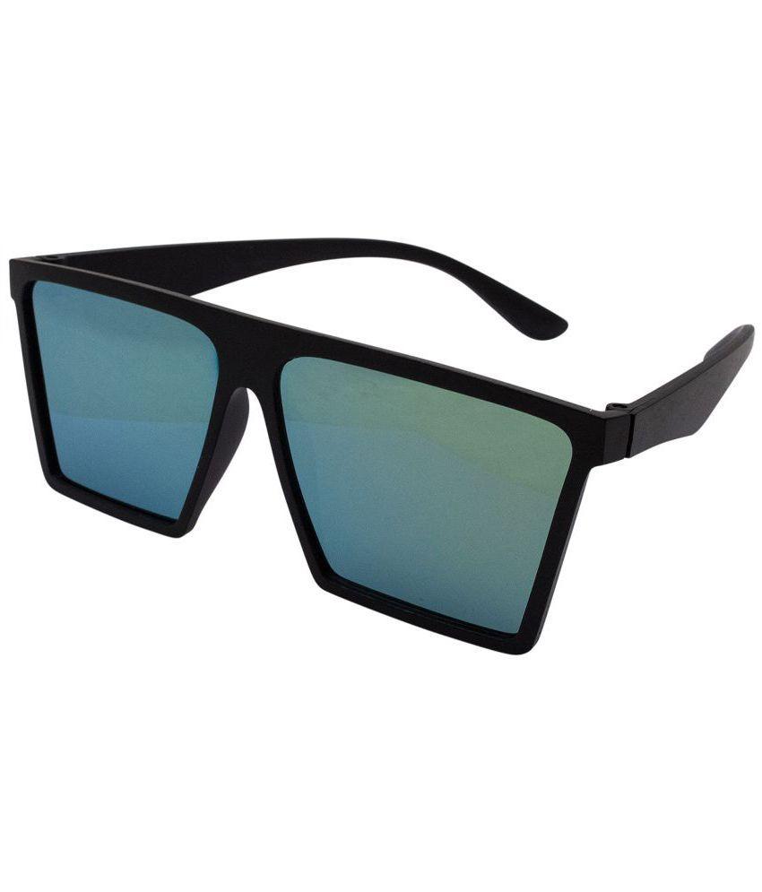 Quoface Green Square Sunglasses ( QF-SG017 )