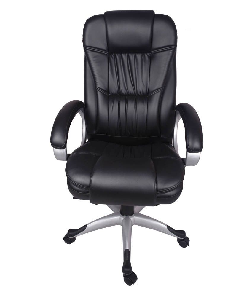 office black. V J Interior Cascada High Back Office Chair Black O