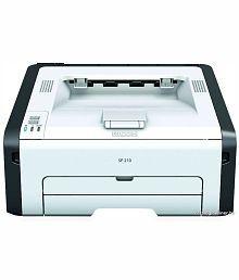 Ricoh SP210 Single Function (Jam Free 22PPM) Laser Printer