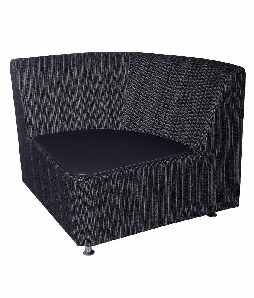 Buy Couch Online: Kurlon Nova Fabric L Shape Sofa