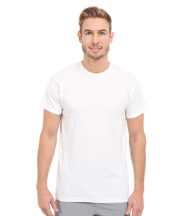 Redfool Fashions White Round T Shirt No