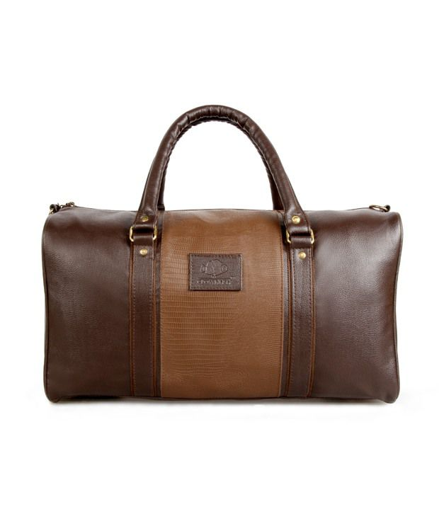 Leather Travel Bags: Buy Leather Travel Bags Online at Low Prices ...