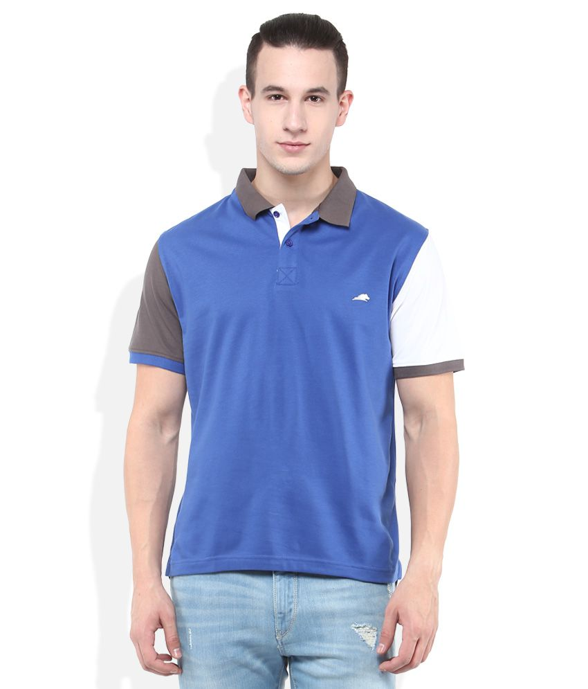 2Go Blue Polo T-Shirt