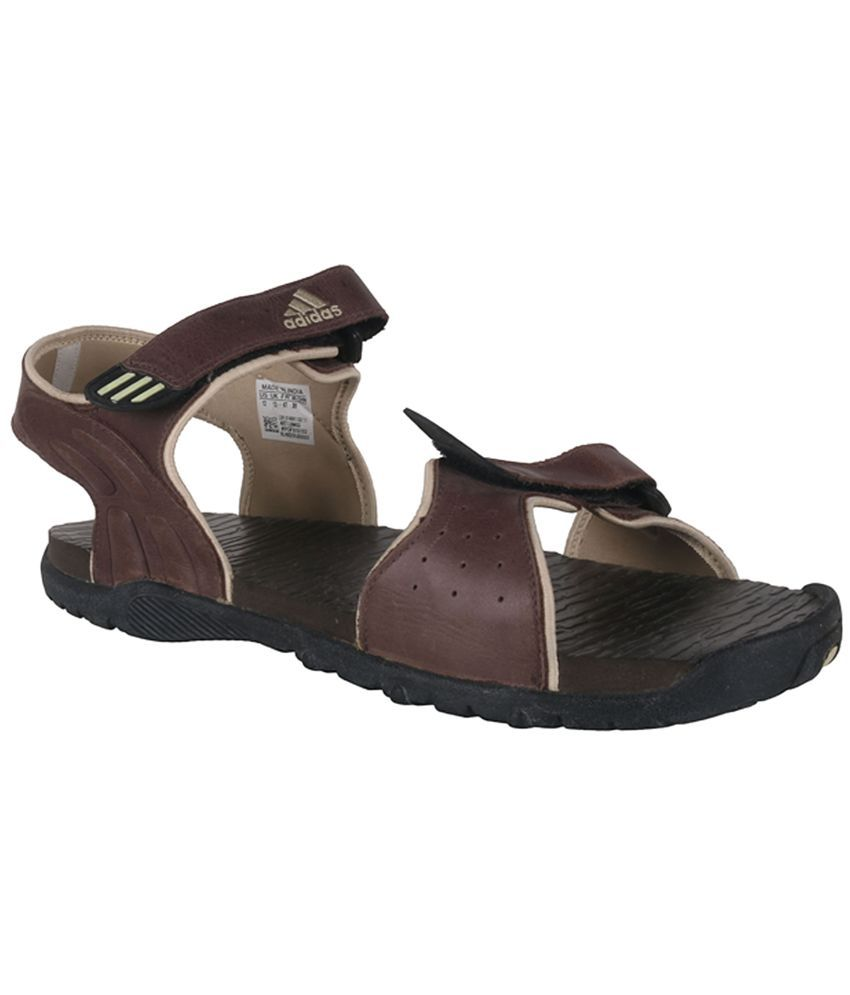 853aa4a02 Adidas Brown Floater Sandals - Buy Adidas Brown Floater Sandals Online at  Best Prices in India on Snapdeal