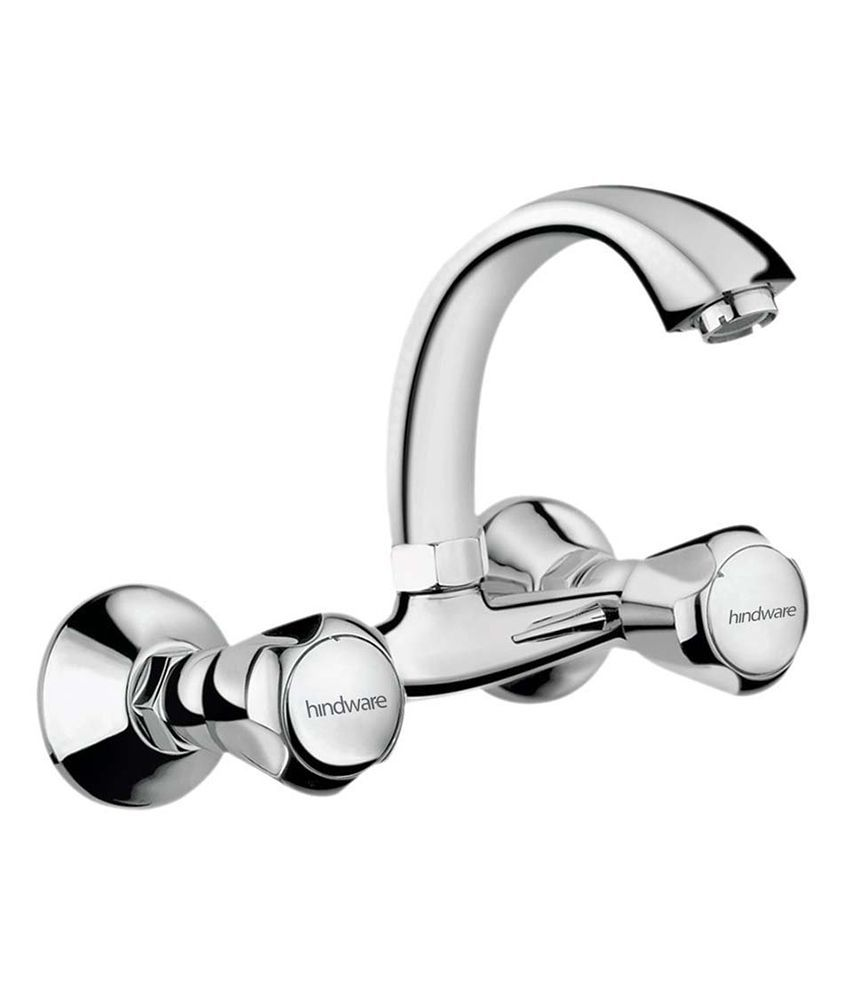 Buy Hindware Sink Mixer With Swivel Casted Spout Wall