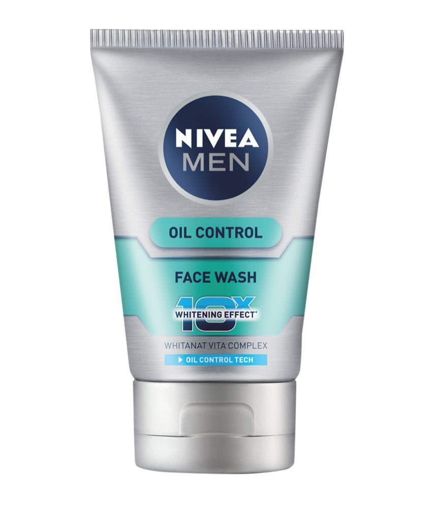 Nivea Men Advance Whitening Oil Control Face Wash+All in ... Nivea Face Wash For Men Oil Control