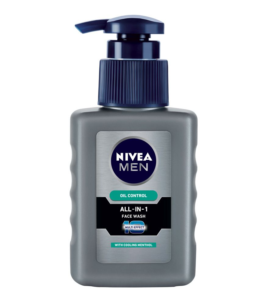 Nivea Men Oil Control All In One Pump Face Wash 65 Ml: Buy ... Nivea Face Wash For Men Oil Control