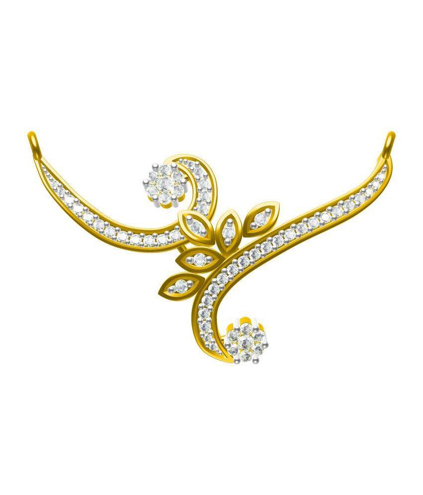 Sakshi Jewels Traditional Golden BIS Hallmarked Mangalsutra