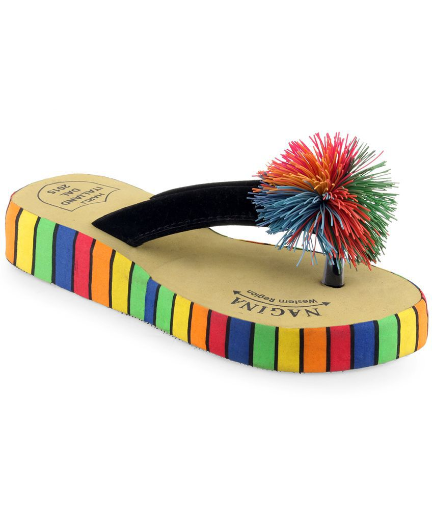 Shoe Lab Multi Flip Flops