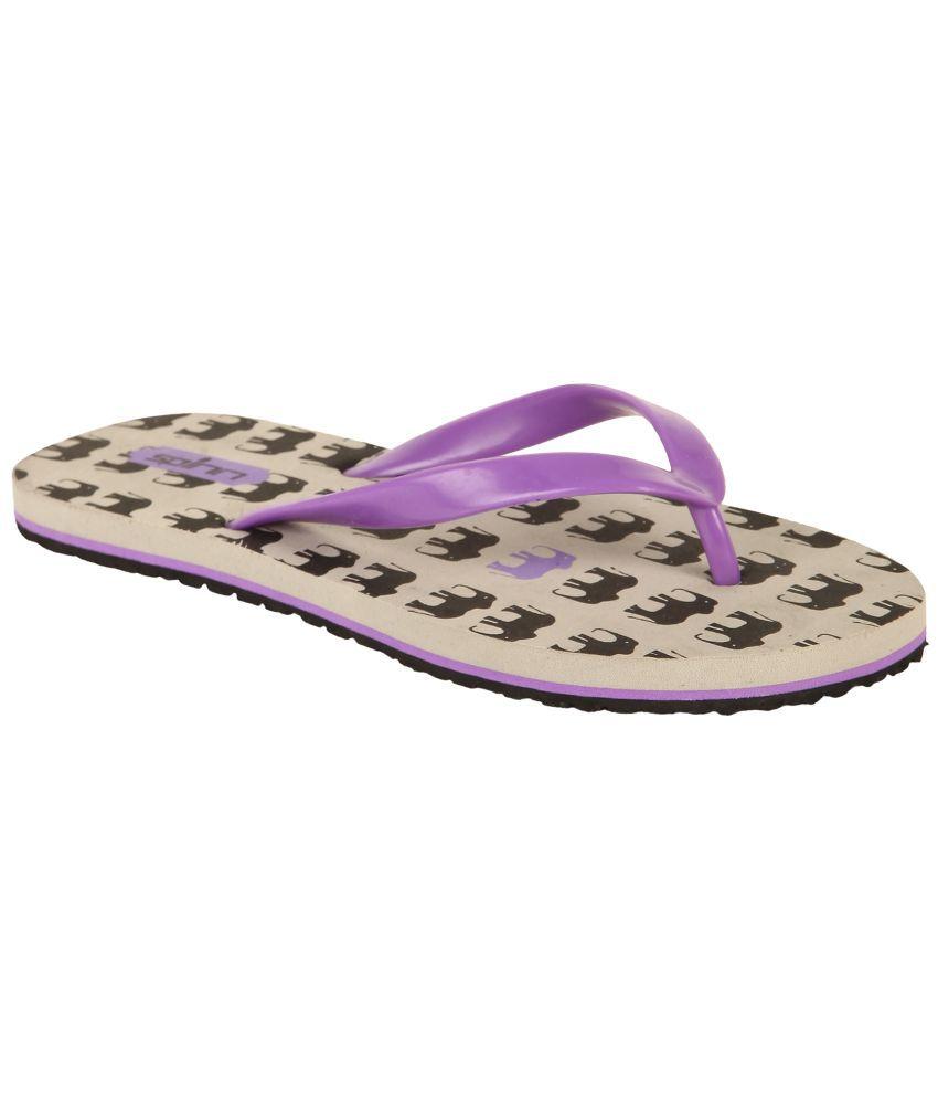 Spinn Gray Flip Flops