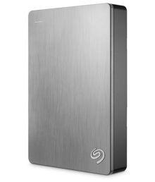 Seagate 4 TB External Hard Disk Silver
