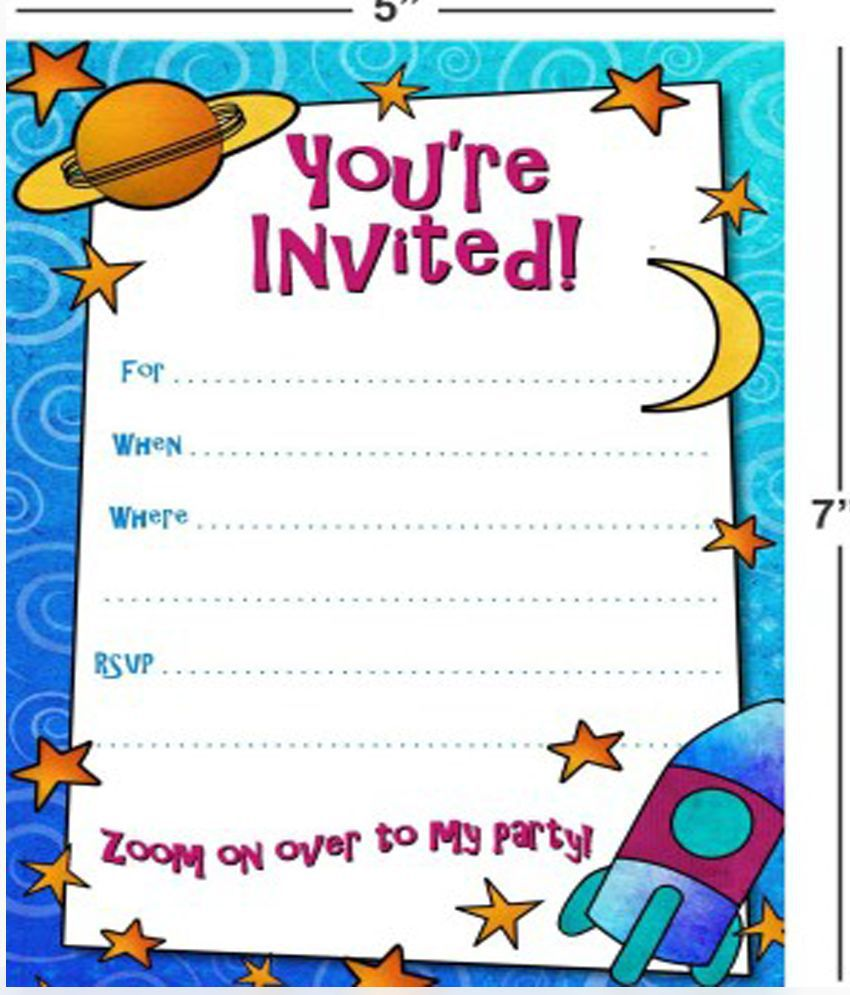 Power Plus Birthday Invitation Card Buy Power Plus Birthday