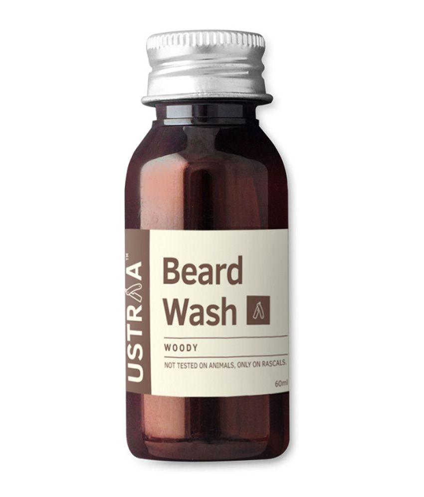 ustraa by happily unmarried woody beard wash buy ustraa. Black Bedroom Furniture Sets. Home Design Ideas