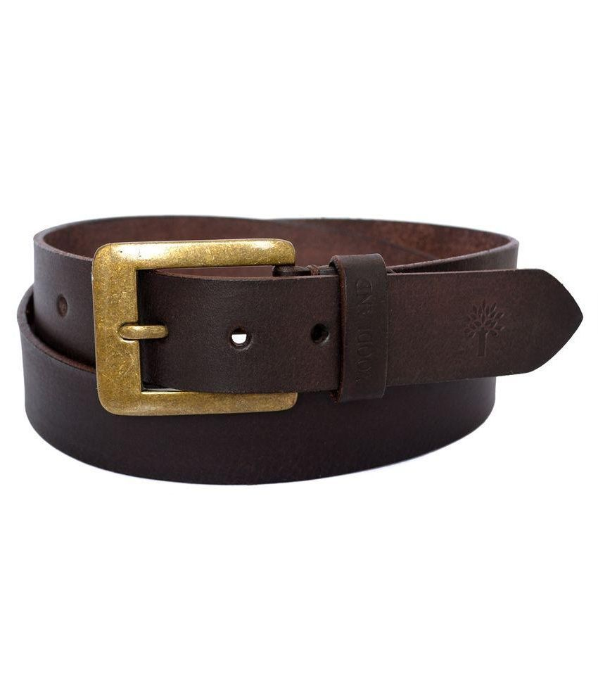 c3d45cd77 Woodland Brown Leather Belt for Men Art BT1035008BRN  Buy Online at Low  Price in India - Snapdeal