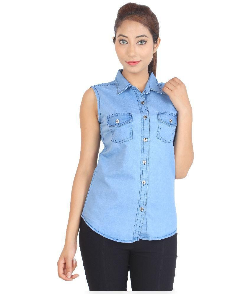 Buy cherry clothing denim shirt online at best prices in for Buy denim shirts online