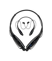 Couch Commando 730bs Wireless In-the-ear With Mic Bluetooth Headphones - Black